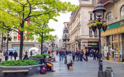 Belgrad Knez Mihailova Caddesi